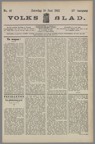 Volksblad 1922-06-10