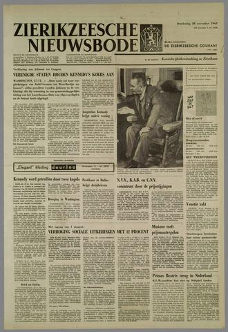 Zierikzeesche Nieuwsbode 1963-11-28