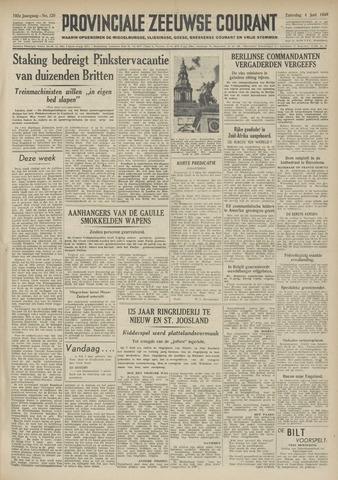 Provinciale Zeeuwse Courant 1949-06-04
