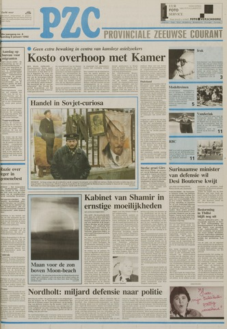 Provinciale Zeeuwse Courant 1992-01-06