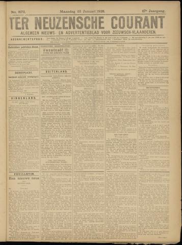 Ter Neuzensche Courant. Algemeen Nieuws- en Advertentieblad voor Zeeuwsch-Vlaanderen / Neuzensche Courant ... (idem) / (Algemeen) nieuws en advertentieblad voor Zeeuwsch-Vlaanderen 1928-01-23