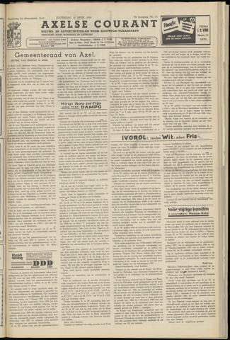 Axelsche Courant 1956-04-14