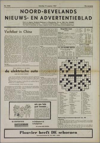 Noord-Bevelands Nieuws- en advertentieblad 1967-08-12