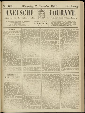 Axelsche Courant 1892-11-23