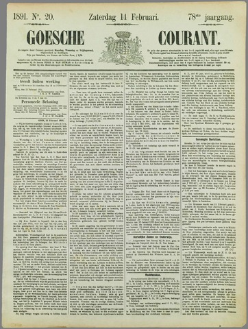 Goessche Courant 1891-02-14