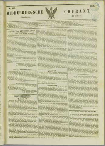 Middelburgsche Courant 1847-10-14