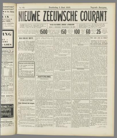 Nieuwe Zeeuwsche Courant 1913-06-05