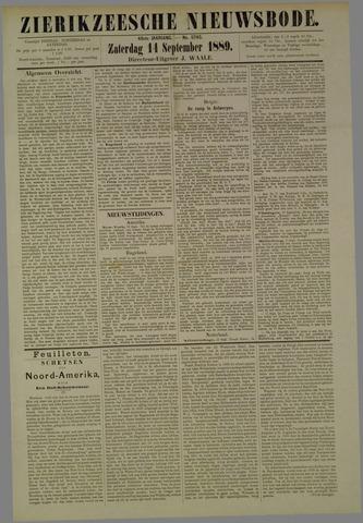 Zierikzeesche Nieuwsbode 1889-09-14