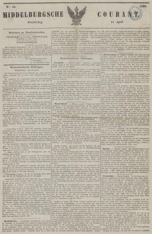 Middelburgsche Courant 1850-04-11
