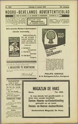 Noord-Bevelands Nieuws- en advertentieblad 1933-01-21