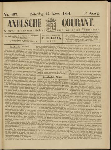 Axelsche Courant 1891-03-14