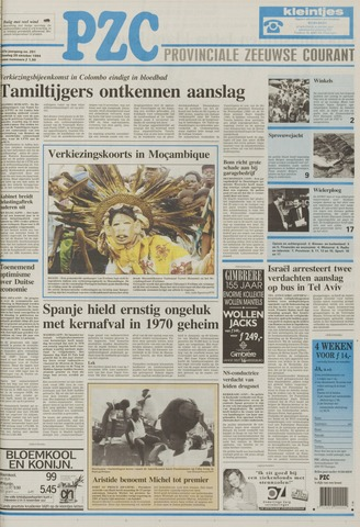 Provinciale Zeeuwse Courant 1994-10-25