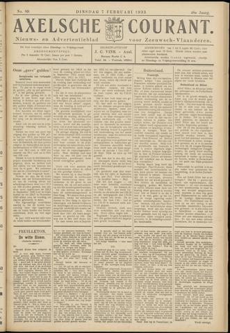 Axelsche Courant 1933-02-07