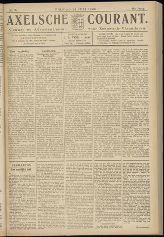 Axelsche Courant 1932-06-24