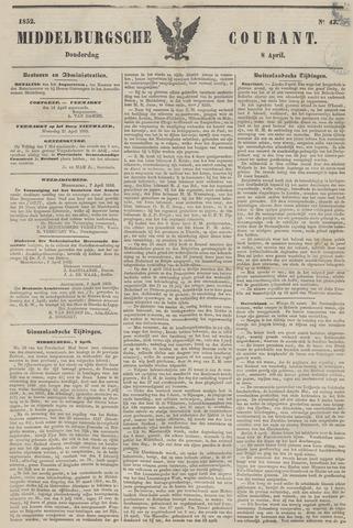 Middelburgsche Courant 1852-04-08