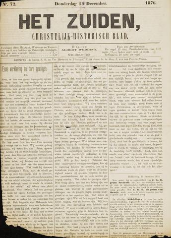 Het Zuiden, Christelijk-historisch blad 1876-12-14