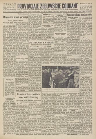 Provinciale Zeeuwse Courant 1946-11-13