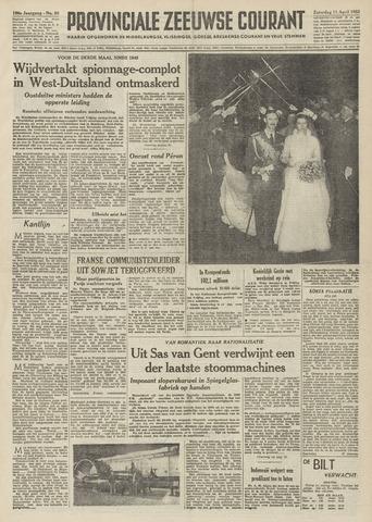 Provinciale Zeeuwse Courant 1953-04-11