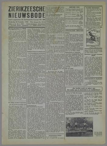 Zierikzeesche Nieuwsbode 1942-12-24