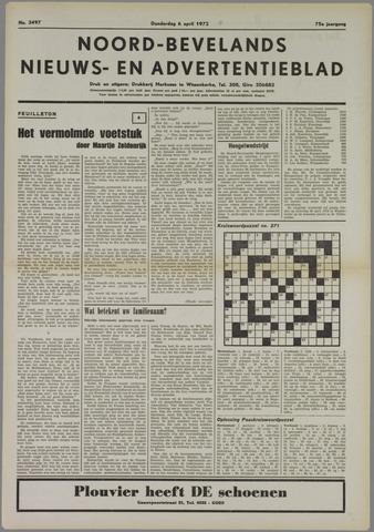 Noord-Bevelands Nieuws- en advertentieblad 1972-04-06