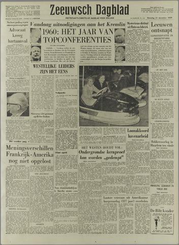 Zeeuwsch Dagblad 1959-12-21