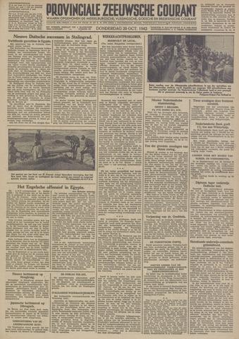 Provinciale Zeeuwse Courant 1942-10-29