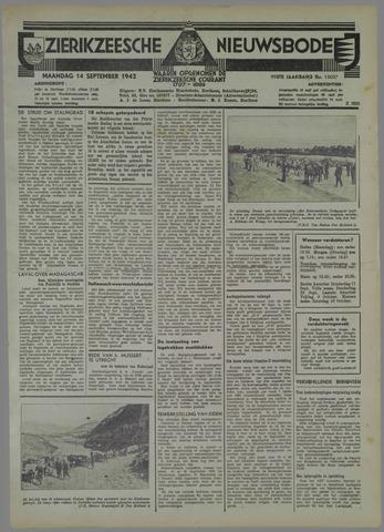 Zierikzeesche Nieuwsbode 1942-09-14