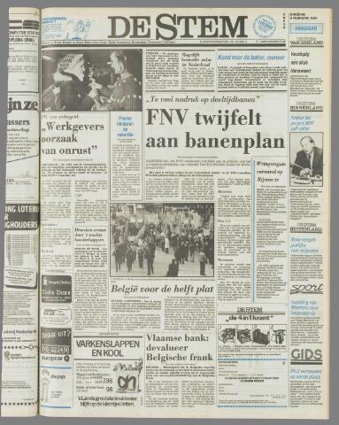 de Stem 1982-02-09