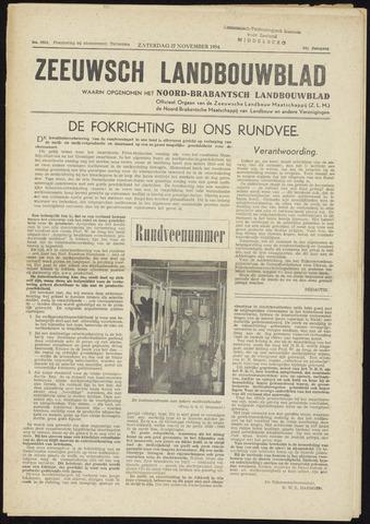 Zeeuwsch landbouwblad ... ZLM land- en tuinbouwblad 1954-11-27