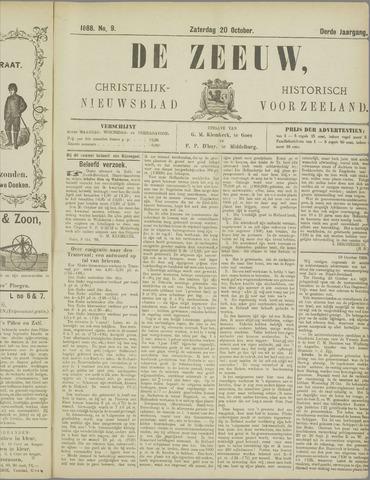 De Zeeuw. Christelijk-historisch nieuwsblad voor Zeeland 1888-10-20