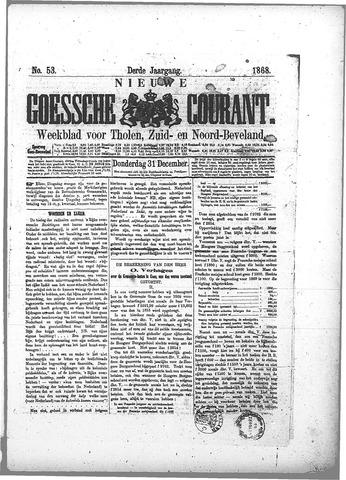 Nieuwe Goessche Courant 1868-12-31