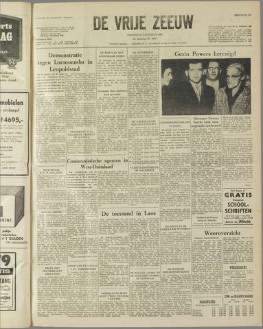 de Vrije Zeeuw 1960-08-26