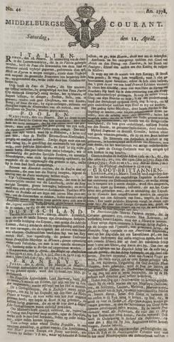 Middelburgsche Courant 1778-04-11