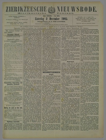 Zierikzeesche Nieuwsbode 1905-12-02