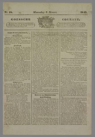 Goessche Courant 1845-03-03