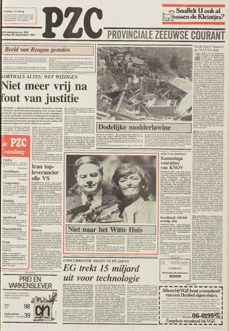 Provinciale Zeeuwse Courant 1987-09-29