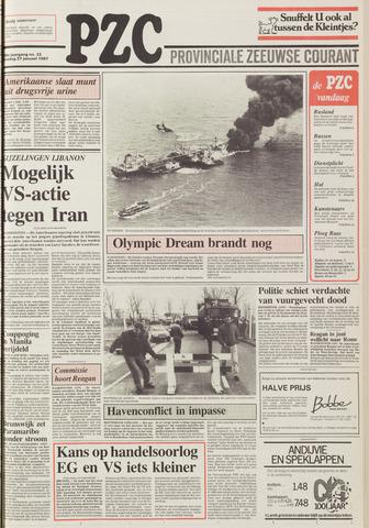 Provinciale Zeeuwse Courant 1987-01-27
