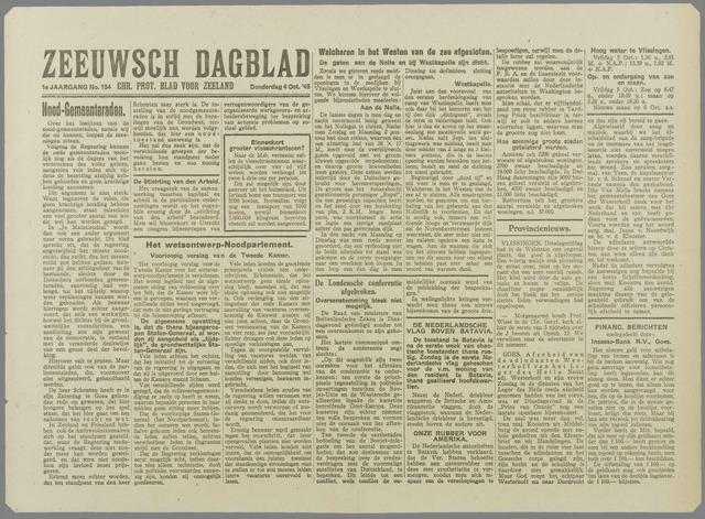 Zeeuwsch Dagblad 1945-10-04