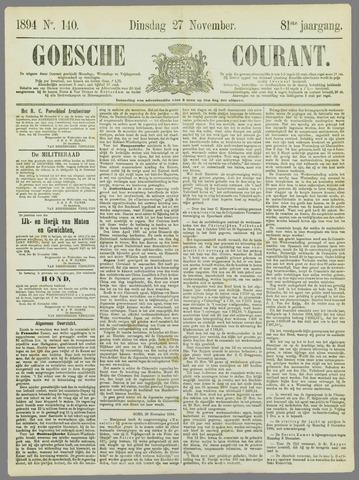 Goessche Courant 1894-11-27