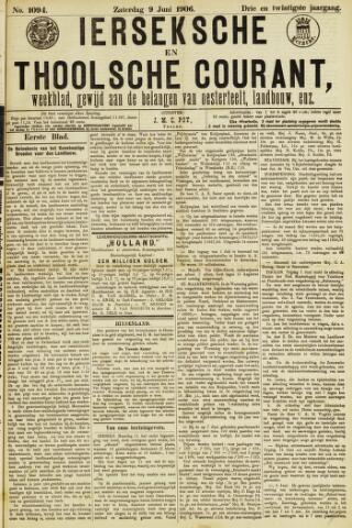 Ierseksche en Thoolsche Courant 1906-06-09