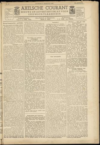 Axelsche Courant 1945-08-25