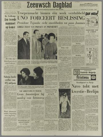 Zeeuwsch Dagblad 1961-12-14