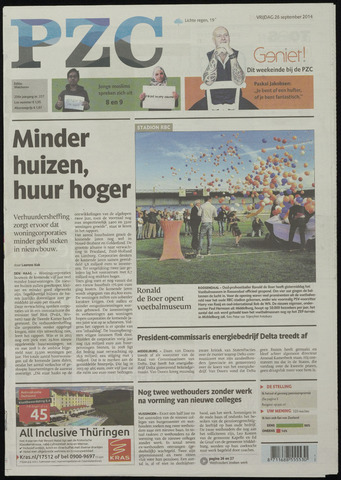 Provinciale Zeeuwse Courant 2014-09-26