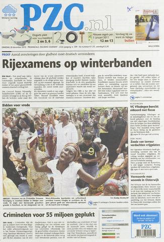Provinciale Zeeuwse Courant 2010-12-28