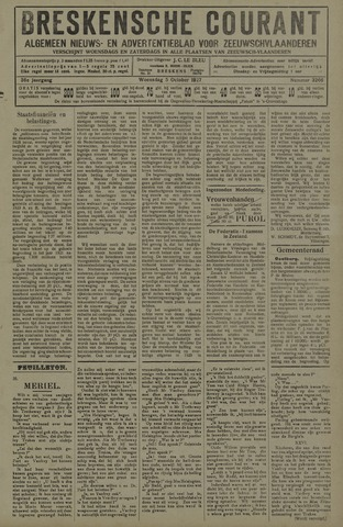 Breskensche Courant 1927-10-05