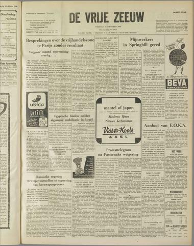 de Vrije Zeeuw 1958-10-31
