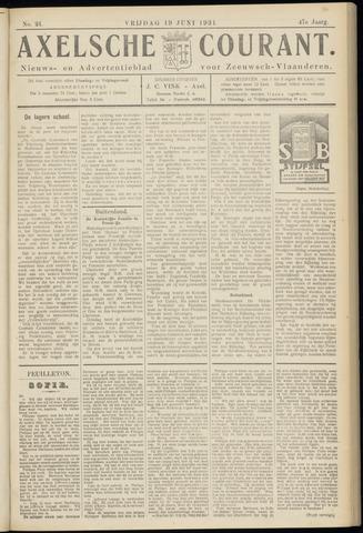 Axelsche Courant 1931-06-19