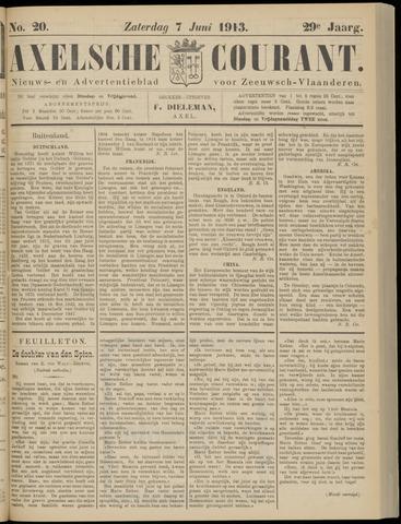 Axelsche Courant 1913-06-07