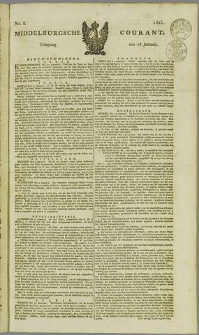 Middelburgsche Courant 1825-01-18