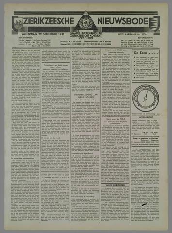 Zierikzeesche Nieuwsbode 1937-09-29